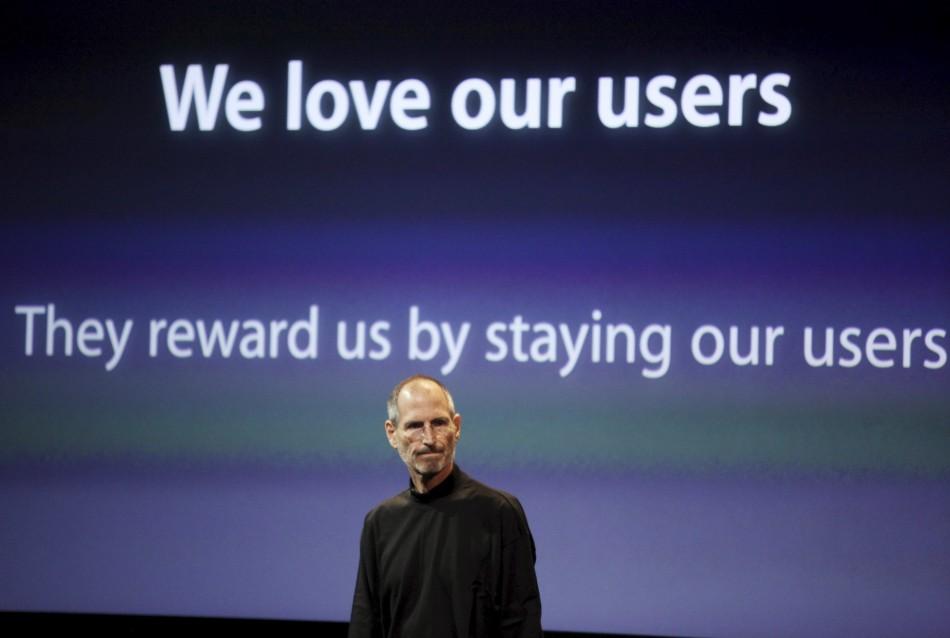Steve Jobs loves his users