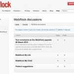Mobiflock Website - Forums - Clickshape