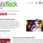 Mobiflock Website - Product Page - Clickshape