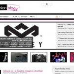 Fashionology Homepage - Clickshape