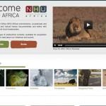 NHU Africa Homepage - Clickshape