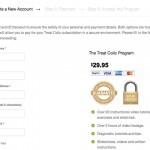 Treat Colic Checkout - Clickshape