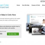 Treat Colic Homepage - Clickshape