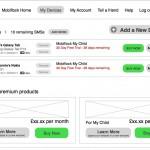 Mobiflock Dashboard - Wireframe - Clickshape