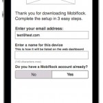Mobiflock Mobile Application UI - Wireframe - Clickshape